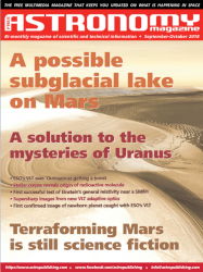 Free Astronomy Magazine – September-October 2018 Issue Available For